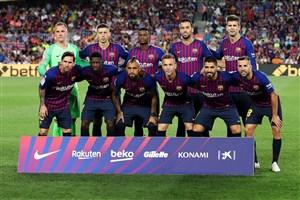 یک مورد نگران کننده در بارسلونای 19-2018