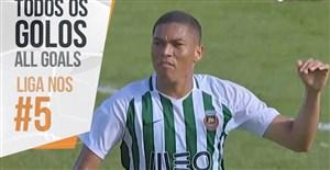تمام گلهای هفته پنجم لیگ پرتغال 19-2018
