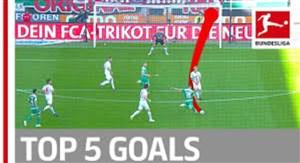 5 گل برتر هفته 4 بوندسلیگا فصل 19-2018