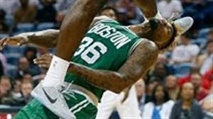 لحظه های خطرناک زمین خوردن بازیکنان NBA
