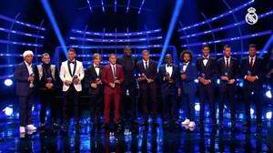 درخشش بازیکنان رئال مادرید در مراسم برترین های فیفا