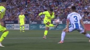 گل اول بارسلونا به لگانس (فیلیپ کوتینیو)