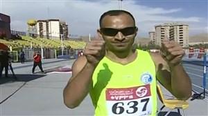 قهرمانی رضاقاسمی در دو 100 متر باشگاه های کشور