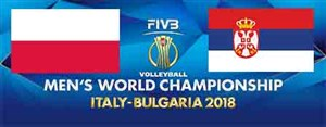 خلاصه والیبال لهستان 3 - صربستان 0 (قهرمانی جهان)