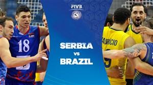خلاصه والیبال برزیل 3 - صربستان 0 (قهرمانی جهان)