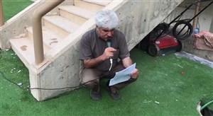 وضعیت گوینده ورزشگاه پارس در حاشیه دربی لیگ یک شیراز!