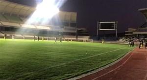 وضعیت ورزشگاه پارس بعد از قطعی برق در دربی شیراز