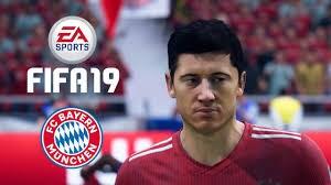 چهره بازیکنان بایرن مونیخ در بازی فیفا 19