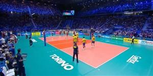 خلاصه ست اول برزیل - لهستان (فینال قهرمانی جهان)