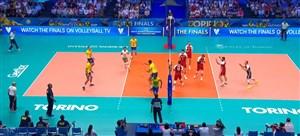 خلاصه ست دوم برزیل - لهستان (فینال قهرمانی جهان)
