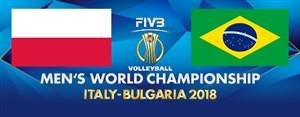 خلاصه والیبال برزیل 0 - لهستان 3 (فینال قهرمانی جهان)