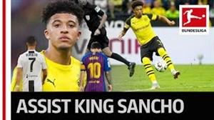 سانچو؛ بازیکنی بالا تر از سطح فوتبال بوندسلیگا