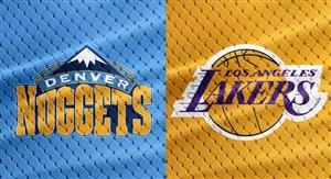 خلاصه بسکتبال لس آنجلس لیکرز 111 - دنور ناگتس 113