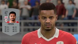 چهره بازیکنان لیگ یک انگلیس در فیفا 2019