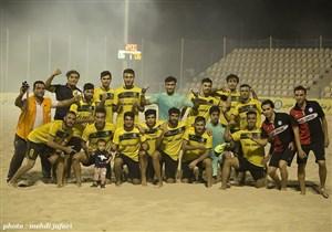پارس جنوبی بوشهر قهرمان لیگ برتر فوتبال ساحلی