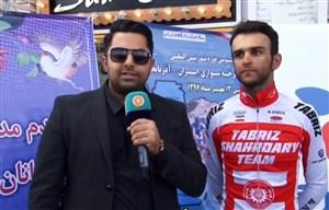 مصاحبه با دوچرخه سواران تور ایران-آذربایجان 2018