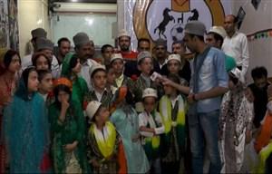 حواشی پیش از شروع دیدار فجر سپاسی - قشقایی شیراز