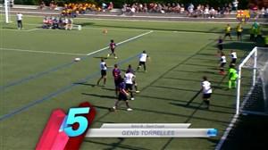 5 گل برترهفته در آکادمی فوتبال بارسلونا (14-07-97)