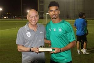 اکرم عفیف مرد سال فوتبال قطر شد