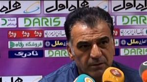 کنفرانس خبری مربیان نفت مسجد سلیمان و استقلال