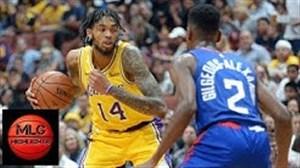 خلاصه بسکتبال لس آنجلس لیکرز - لس آنجلس کلیپرز