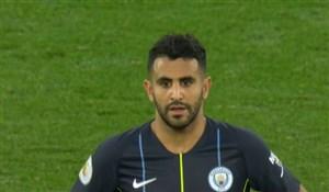 پنالتی از دست رفته ریاض محرز در مقابل لیورپول