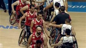 خلاصه بسکتبال ایران 91 - چین 55 (پاراآسیایی 2018)