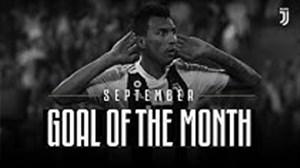 نامزدهای بهترین گل ماه سپتامبر باشگاه یوونتوس