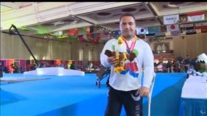 کسب مقام سوم و اهدای مدال برنز به حمزه محمدی