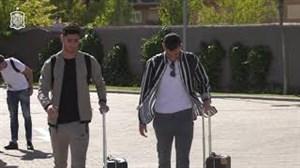 ورود ستارگان اسپانیا به کمپ تیم ملی این کشور