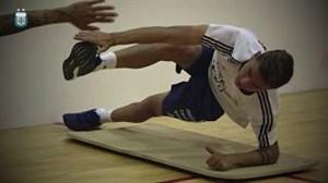 نگاهی به تمرینات بدنسازی تیم ملی آژانتین