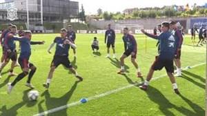 تمرین امروز تیم ملی اسپانیا (17-07-97)