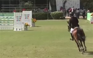 عملکرد نجفینیا در رانداول اسبسواری المپیکجوانان