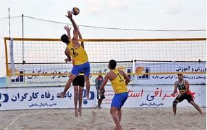 شروع تور جهانی تک ستاره والیبال ساحلی در بابلسر