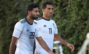 امیری تنها بازیکن مشترک دو دیدار دوستانه ایران