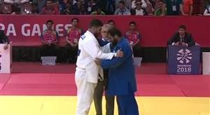 کسب مدال نقره جودو توسط خیرالله زاده