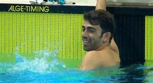 چهارمین مدال طلای شاهین ایزدیار ستاره شنای ایران