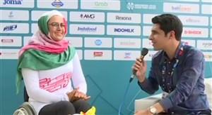 گفتگو با زهرا نعمتی پس از کسب مقام دوم پارا آسیایی 2018