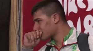 اشکهای غیرتمندانه ابولفضل شجاعی پس از ناکامی در مسابقات