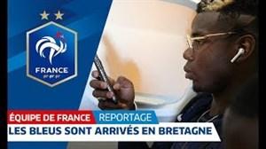همراه با تیم ملی فرانسه تا برتانی
