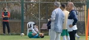 مشکلات تیم ملی امید در تمرین امروز (18-07-97)