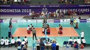 خلاصه فینال والیبال نشسته ایران 3 - چین 0(پاراآسیایی)
