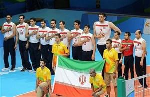 والیبال نشسته ایران مقتدرانه روى بام آسیا