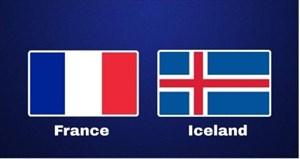 خلاصه بازی ایسلند 2 - فرانسه 2 (دوستانه)