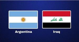 خلاصه بازی عراق 0 - آرژانتین 4 (دوستانه)