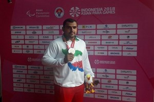 مدالهای طلا و نقره پرتاب دیسک به ورزشکاران ایرانی رسید