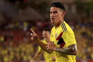 بازی فوقالعاده و گل تماشایی خامس برای کلمبیا