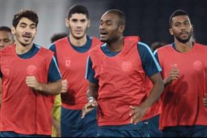 ستاره های السد در تمرین تیم ملی قطر (عکس)