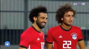 گل فوق العاده زیبای محمد صلاح از روی نقطه کرنر