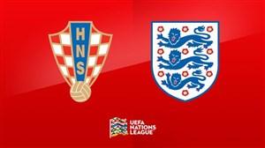 خلاصهبازی کرواسی 0 - انگلیس 0 (لیگملتهایاروپا)